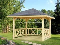 Wooden Gazebo Kit-AFR01