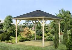 Wooden Gazebo Kit-AFR02