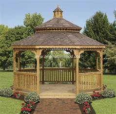 Wooden Gazebo Kit-AFR10
