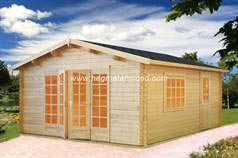 Prefab wooden house Diba