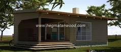 Prefab wooden Home Persia