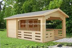 Prefab wooden house Isun